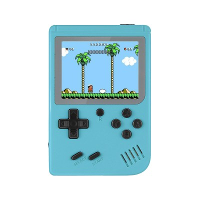 Handheld Console Classic w/500 Games Blue