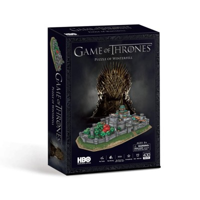 Puzzle 3D Game of Thrones Winterfell 429 Peças