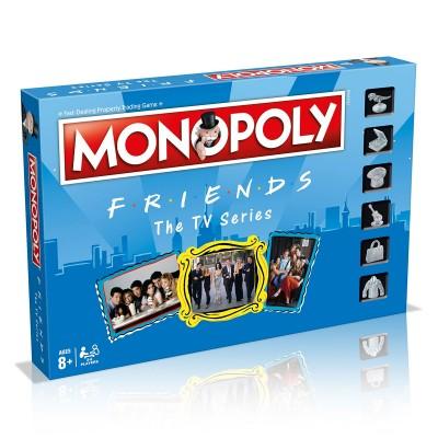 Game Monopoly Friends (Portuguese Version)