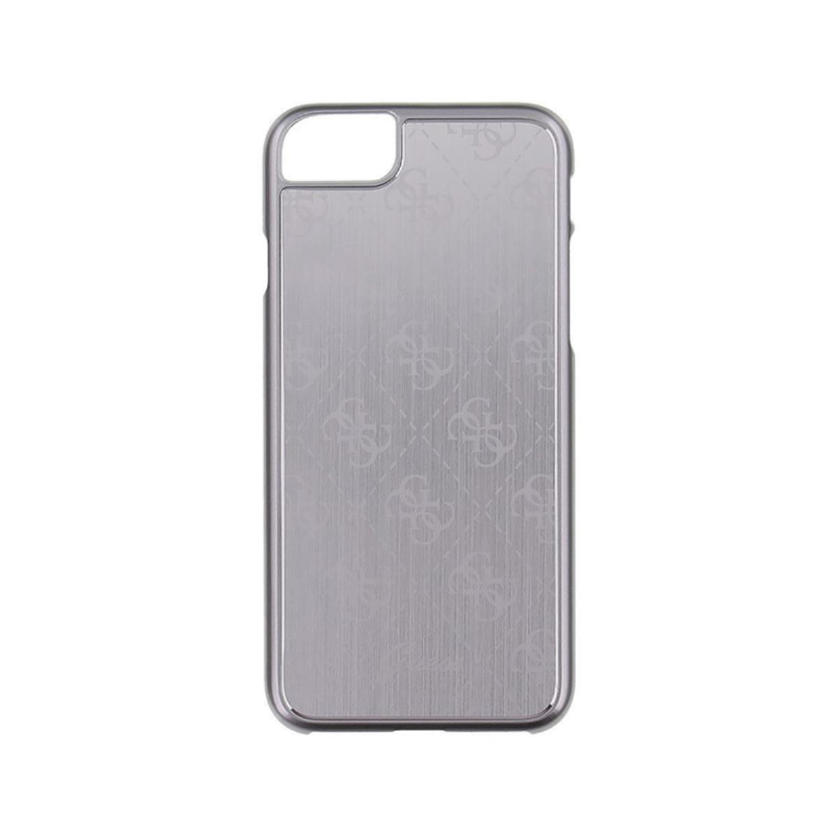 42a004961 Compre online Funda Metalica Hardcase Guess iPhone 7 Plateado (GUHCP7MESI)