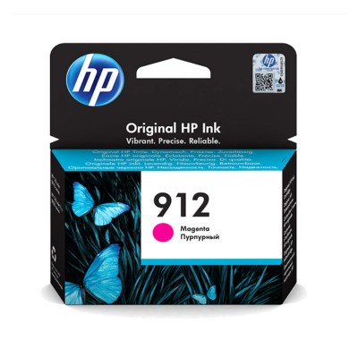 Tinteiro HP 912 Magenta (3YL78AE)