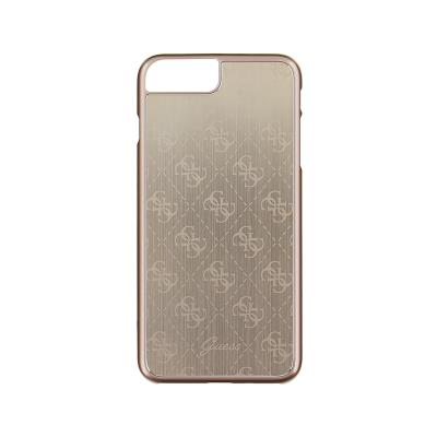Guess Metalic Hardcase Case iPhone 7 Plus Silver (GUHCP7LMEGO)