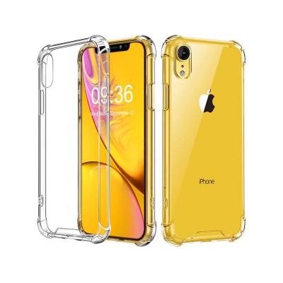 Capa Silicone Anti-Choque iPhone XR Transparente