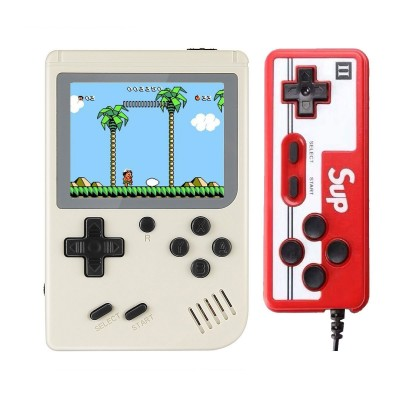 Handheld Console Sup Classic w/400 Games White