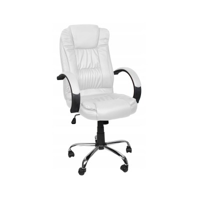 Office Chair ECO Couro White (8984)