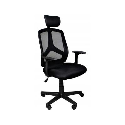 Cadeira de Escritório Ergonómica Preta (8981)