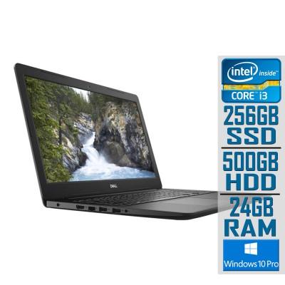 "Laptop Dell Vostro 3501 15"" i3-1005G1 SSD256GB+500GB/24GB Black"