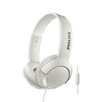 Headphone Philips Bass+ White (SHL3075WT/00)