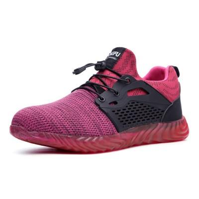 Sapatos de Segurança p/Trabalho Tamanho 36 Rosa