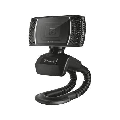 Webcam Trust Trino HD w/Microphone Black (18679)