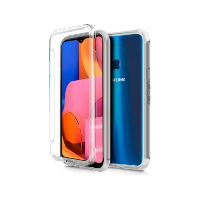 Silicone 360º Cover Samsung Galaxy A20s Transparent