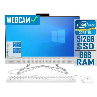 """All-In-One HP 24-DF0043NS 24"""" i5-1035G1 SSD 512GB/8GB"""