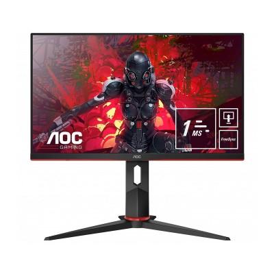 """Monitor Gaming AOC 24"""" IPS FHD 75Hz Recondicionado (24G2U5/BK)"""