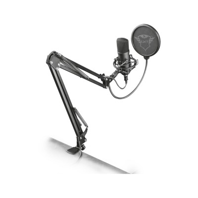 Microphone Trust GXT 252 + Emita Plus Streaming Microphone Black (22400)