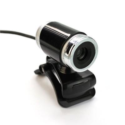 Webcam Leotec One SD w/Microphone Black (LEWCAM1001)