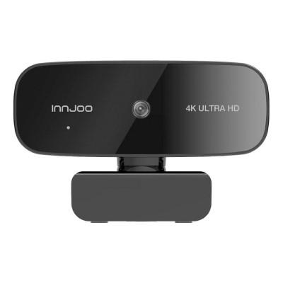Webcam c/ Microfone Innjoo 4K Ultra HD Preta