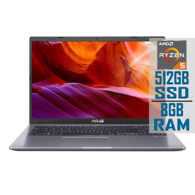 "Laptop Asus Notebook M509D 15"" Ryzen 5-3500U SSD 512GB/8GB Refurbished"