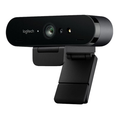 Webcam Logitech BRIO Pro Business 4K UHD c/Microfone Preta