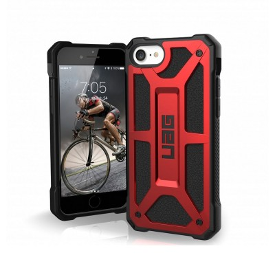Funda Silicona UAG iPhone 7/8/SE Monarch Roja