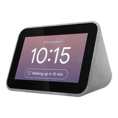Relógio Despertador Inteligente Lenovo Smart Clock com Assistente Google