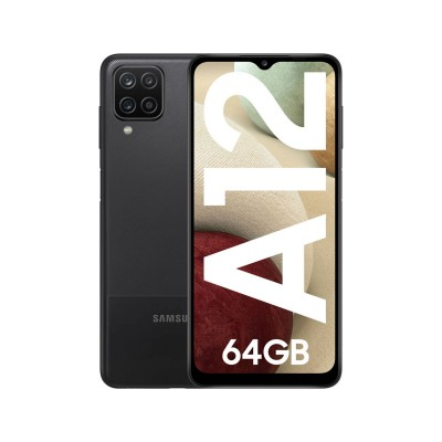 Samsung Galaxy A12 64GB/4GB A125 Dual SIM Preto