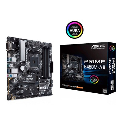 ATX Motherboard Asus Prime B450M-A II Micro-ATX (90MB15Z0-M0EAY0)