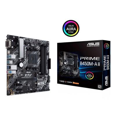 Motherboard Asus Prime B450M-A II Micro-ATX (90MB15Z0-M0EAY0)
