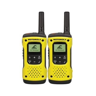 Walkie Talkie Motorola TLKR T92 H2O 10km Amarelo (Pack 2)