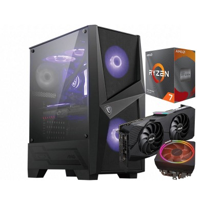 Computador YouGet Gaming V4 Ryzen 7 RX 5600 XT SSD250GB/16GB