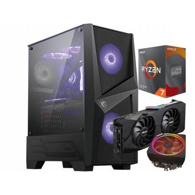 Computer YouGet Gaming V4 Ryzen 7 RX 5600 XT SSD250GB/16GB