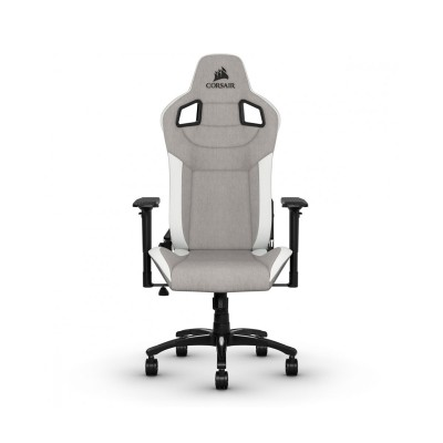 Cadeira Gaming Corsair T3 Rush Cinza/Branco (CF-9010030-WW)