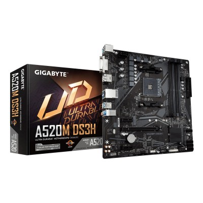 ATX Motherboard Gigabyte A520M-DS3H (GAA52MS3H-00-G)