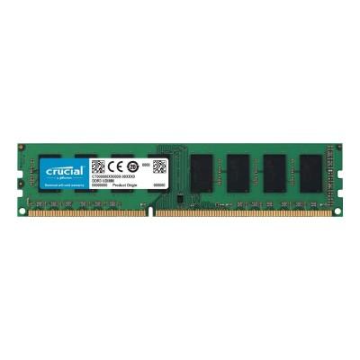 RAM Memory Crucial UDIMM 4GB DDR3 1600MHz CL11