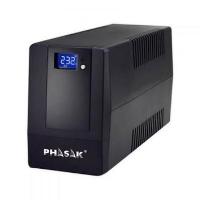 UPS Phasak 600VA LCD USB+RJ PH-9464