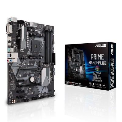 ATX Motherboard Asus Prime B450-Plus ATX (90MB0YN0-M0EAY0)