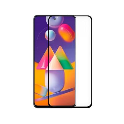 Tempered Glass Film Samsung Galaxy M31s Full Screen Black