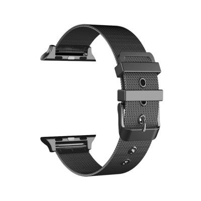 Bracelete de Metal Apple Watch Series 1/2/3/4/5 42/44 mm Preta