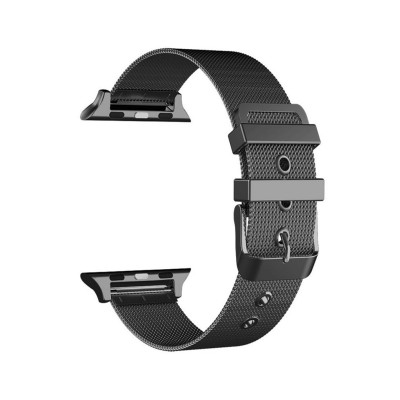 Metal Watch Band Apple Watch Series 1/2/3/4/5 42/44 mm Black