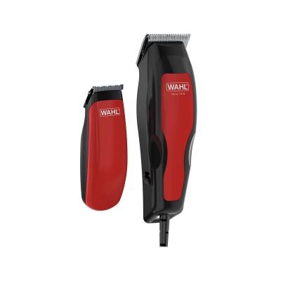 Aparador de Cabelo WAHL Home Pro 100 Combo Vermelho/Preto