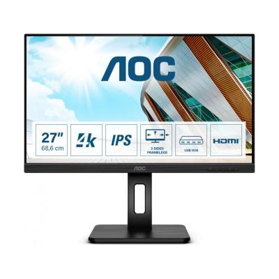 "Monitor AOC U27P2 27"" UHD 4K Black"
