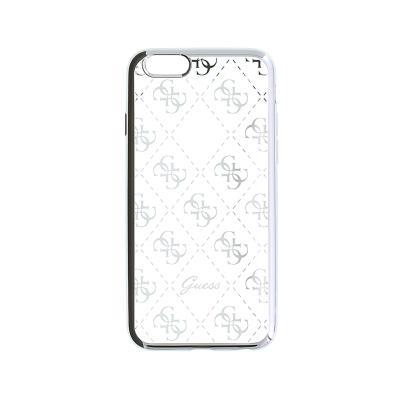 Capa Silicone Guess iPhone 5S/SE Prateada (GUHCPSETR4GSI)
