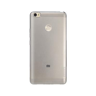Funda Silicona Nillkin Xiaomi Mi Max Transparente Oscuro