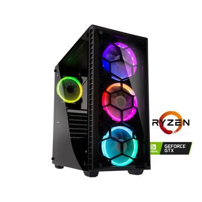 Computer YouGet Gaming V3 Ryzen 7 GTX 1660 SSD480GB/16GB