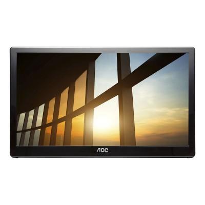 """Monitor Portátil AOC 15"""" IPS FHD Preto (I1659FWUX)"""