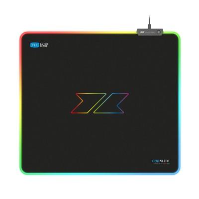 Tapete 1Life gmp:slide Large RGB 450x400x3mm Preto (1IFEGMPSLIDELRGB)