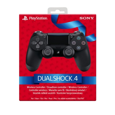 Comando Sony DualShock 4 V2 PS4 Preto Gift Edition