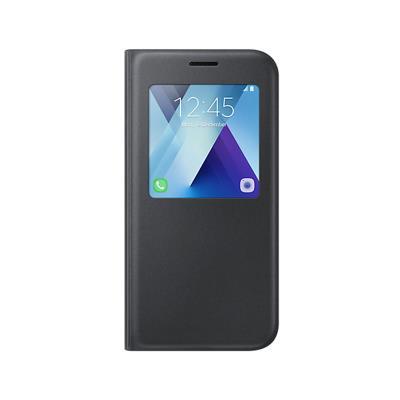 Capa S-View Original Samsung A5 2017 Preta(EF-CA520PBE)