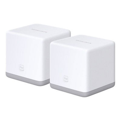 Sistema Mesh Mercusys Halo S3 Wi-Fi 300Mbps Branco (Pack 2)