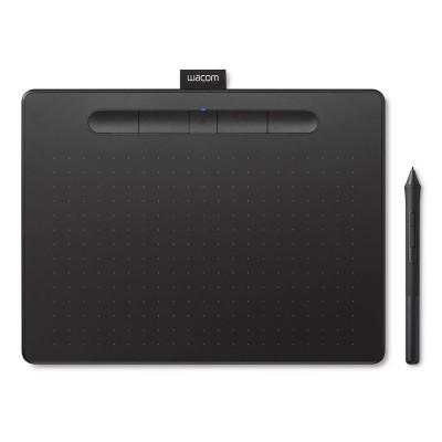 Mesa Digitalizadora Wacom Intuos M Bluetooth c/Pen Preta (CTL-6100WL)