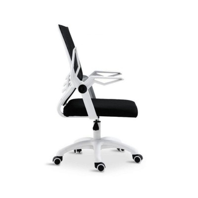 Executive Office Chair Mesh Swivel White